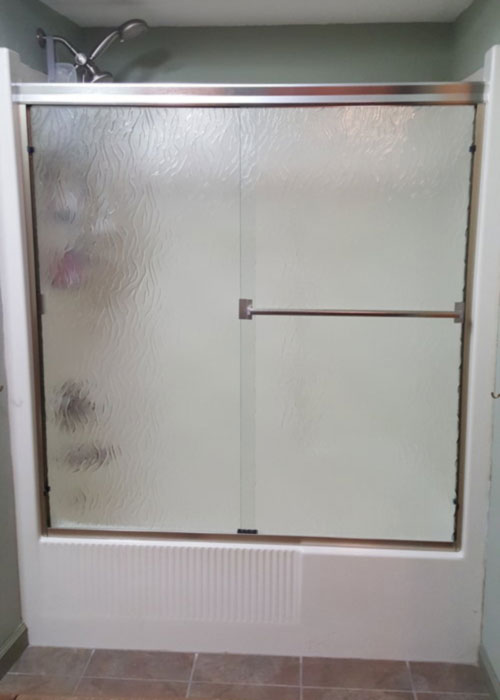 Framed Sliding Shower Doors