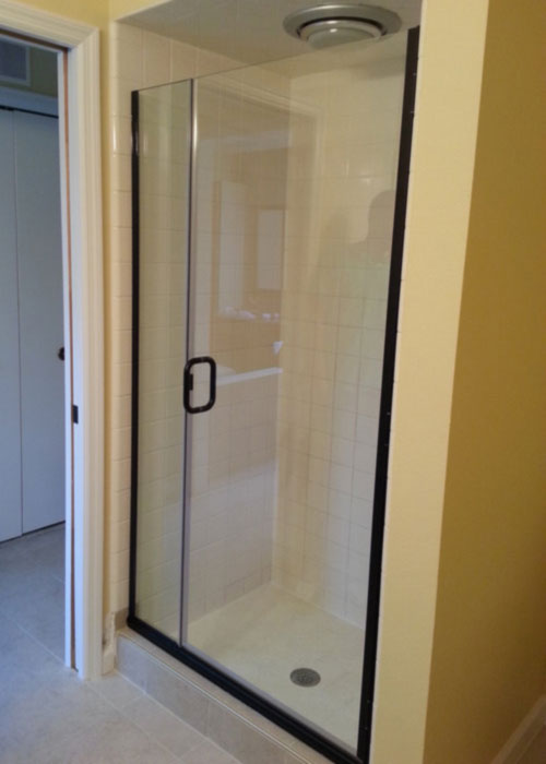hybrid shower door
